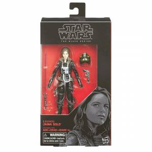 Star Wars BLACK SERIES JAiNA SOLO 6 inch EXCLUSIVE Action Figure