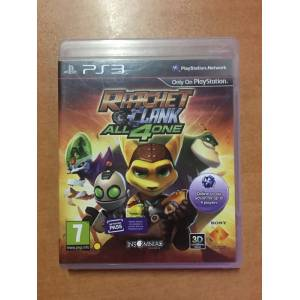 RATCHET CLANK ALL 4 ONE PS3 ORJİNAL OYUN