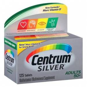 CENTRUM SILVER Adults (50+ 125 tablets)