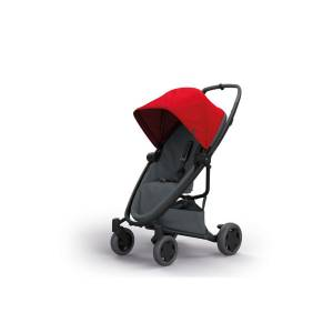 Quinny Zapp Flex Plus Bebek Arabası - Red On Graphite