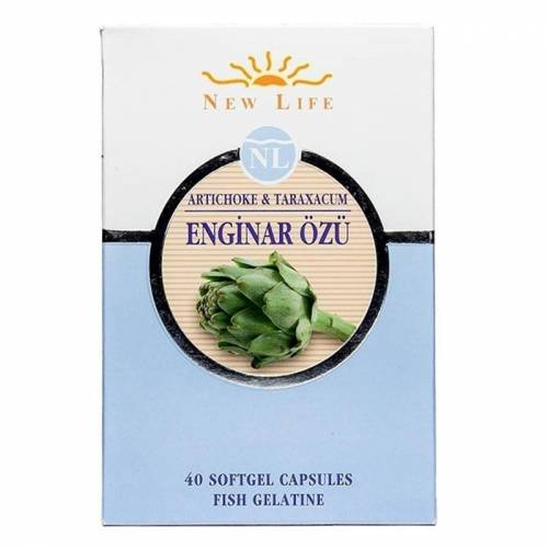 New Life Enginar Özü 40 Kapsül AROMASIZ