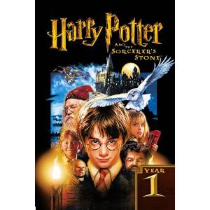 Harry Potter and the Sorcerers Stone 2001 1A2Z3Y4W AFİŞ - POSTER ÖZEL RULO KUTUDA 50 cm x 70 cm