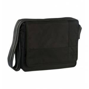 Lassig Casual Messenger Çantası / Patch Black