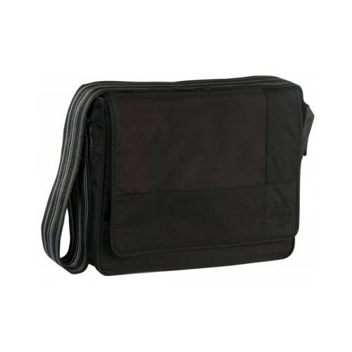 Lassig Casual Messenger Çantası  Patch Black 405345246