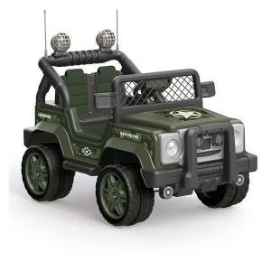 Dolu Askeri Akülü Jeep Araba 8083 12 Volt 4x4 Commando Military MP3