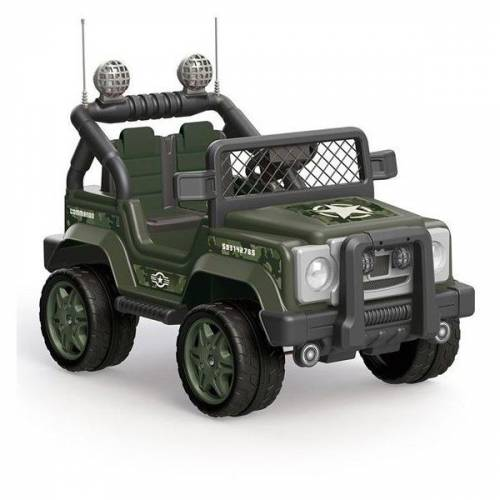 Dolu Askeri Akülü Jeep Araba 8083 12 Volt 4x4 Commando Military MP3 405426242