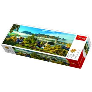 Trefl By The Schliersee Lake 1000 Parça Panorama Puzzle 29035