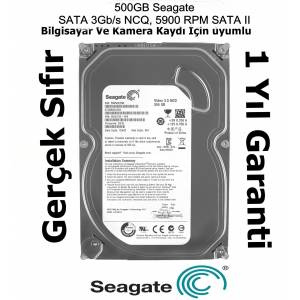 Seagate Barracuda 3.5 500gb 5900rpm 8mb 724 PC HARDDİSK