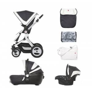 Carra Lusso 3in1 Travel Set Bebek Arabası - Antrasite