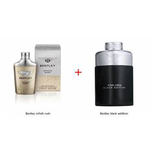 Bentley İnfinite Rush Edt 100 Ml Erkek ParfümBentley Black Edition Edp 100 ML Erkek Parfüm HEDİYE