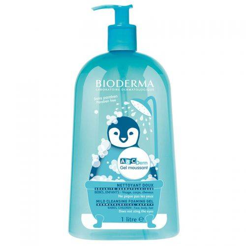 Bioderma Abcderm Foaming Cleanser 1Litre 407035728