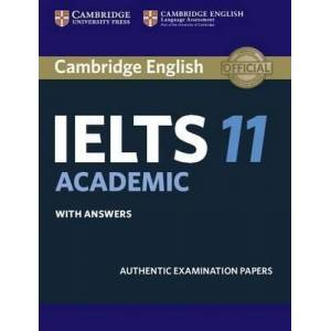 Cambridge IELTS 11 Academic Book with Answers and CD