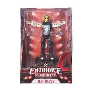 WWE ENTRENCE GREATS JEFF HARDY 7 INCH ACTION FIGURE