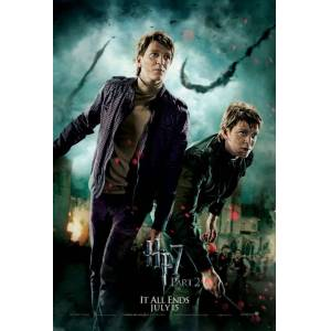 Harry Potter Deathly Hallows Part 2 (2011) vcqtt78ı AFİŞ-POSTER ÖZEL RULO KUTUDA (35 cm x 50 cm)