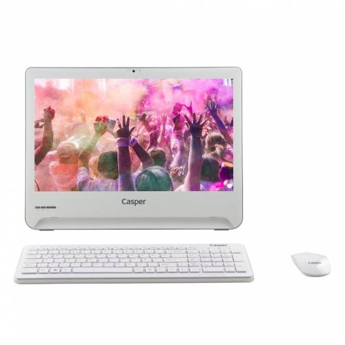 Casper Nirvana NAB.N284-4L05E ALL IN ONE PC Beyaz Masaüstü Bilgisayar 18.5inç Windows 10 AIO 408400285