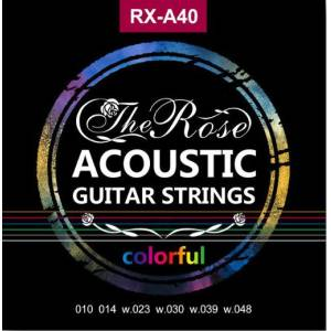 THE ROSE COLORFULL AKUSTİK GİTAR TELİ RX-A40