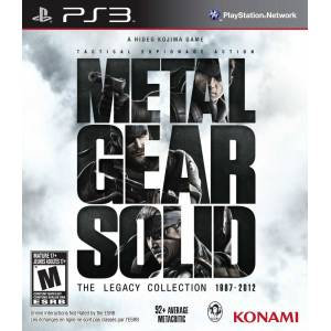 Metal Gear Solid The Legacy Collection PS3 Sıfır Ücretsiz Kargo