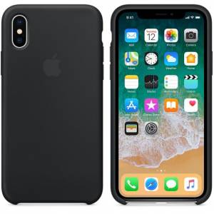 IPHONE X SILICONE CASE SİYAH