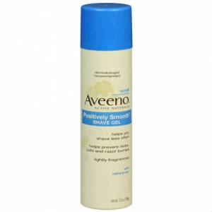 Aveeno Positively Smooth Shave Gel 198 gr