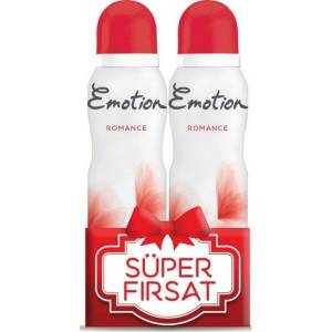 Emotion Romance Deodorant 150 ml 2 li Paket