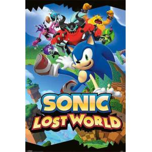 SONIC LOST WORLD MINI POSTER İTHAL