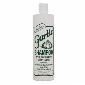 Nutrine Garlic Shampoo 16 Oz. 453 Gr Unscented Natural