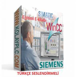 Simatic WINCC-HMI İnteraktif video eğitimi e-kitabı16 gb flash diskte