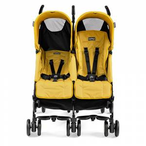Peg Perego Pliko Mini Twin İkiz Bebek Arabası Mod Yellow
