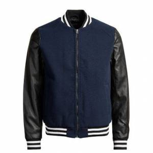 JACK JONES BASEBALL BOMBER ERKEK MONT 12113500