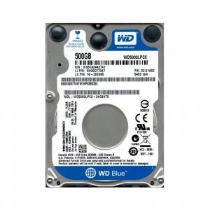 WD Blue 2.5 500GB 16MB SATA 6 Gbs 5400 RPM 7mm WD5000LPCX
