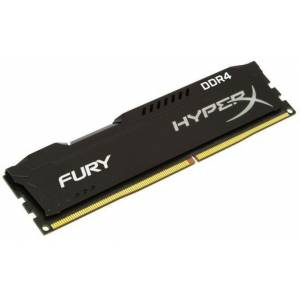 Kingston 4GB HyperX Fury Black 2400MHz DDR4 CL15 Tek Modül Ram HX424C15FB4