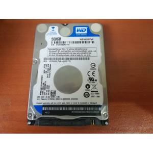 WD Blue 500GB 7.00mm LAPTOP HardDisk 5400 RPM SATA 6 Gbs 2.5 Inch İNCE SERİ WD5000LPVX