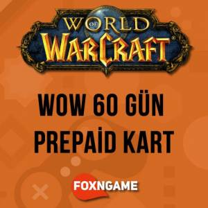 WOW 60 World of Warcraft 60 Günlük Prepaid - World of Warcraft 60 Days Prepaid Game Time
