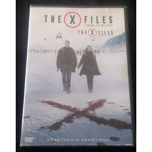 THE X FILES İNANMAK İSTİYORUM - THE X FILES I WANT TO BELIEVE  DAVID DUCHOVNY  DVD