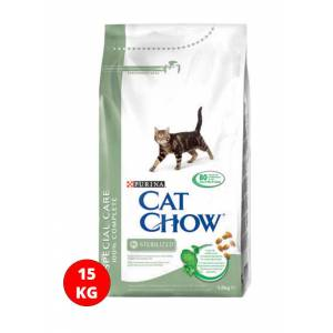 Cat Chow Kedi Special Care Sterilised 15Kg