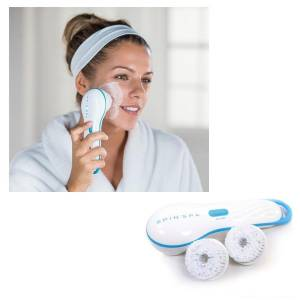 SPIN SPA FACIAL CLEANSING BRUSH YÜZ TEMIZLEME VE BAKIM SETI