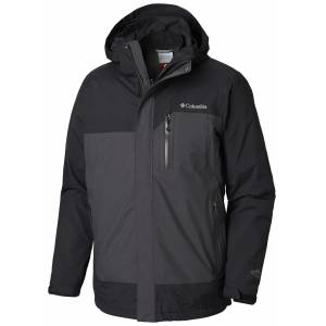 Columbia WM0925 Summit Crest II Interchange Jacket 1798751011 Siyah