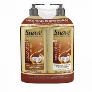 Suave Coconut Oil Infusion 1.18LShampoo and 1.18LConditioner