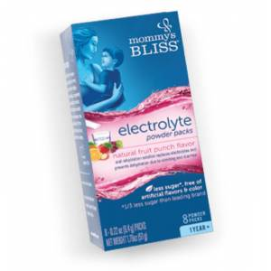 Mommys Bliss Electrolyte Powder Packs Fruit Punch
