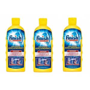 FİNİSH BULAŞIK MAKİNESİ PERFORMANS GÜÇLENDİRİCİ 250 ML X 3 ADET
