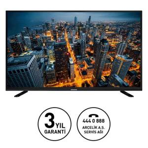 GRUNDIG 49VLX8650 123 CM 4K UHD SMART INTERACTIVE 4.0 LED TVDAHİLİ UYDU ALICILI