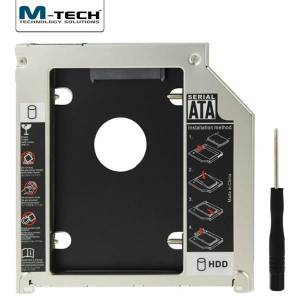 M-TECH MSSC0095 Notebook için Ekstra 9.5mm Slim SATA Caddy HDD Yuvası