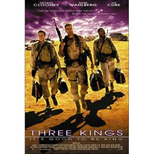 Three Kings 1999 MİNİ AFİŞ-POSTER 21 cm x 297 cm 1A2Z3Y4W