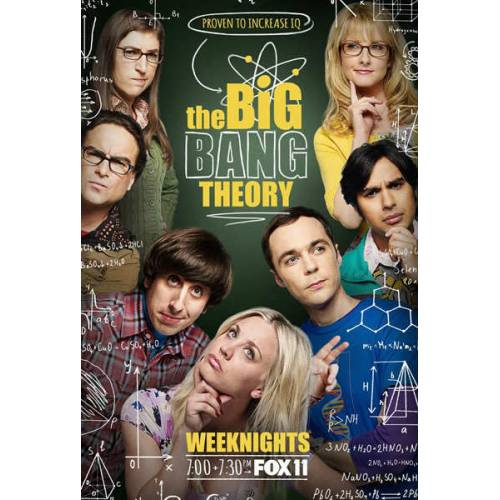 The Big Bang Theory tv AFİŞ-POSTER ÖZEL RULO 35 cm x 50 cm 3S4R5P6O 415995918