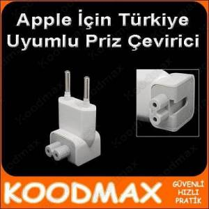 Apple iPad iPhone Macbook Şarj Soket Adaptör Çevirici Priz Ucu