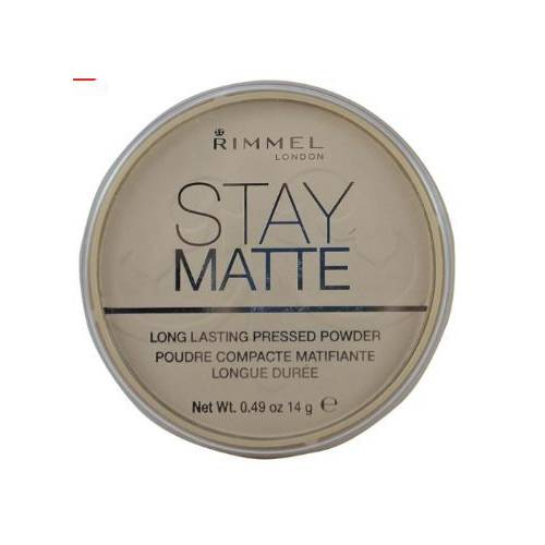 RIMMEL LONDON Stay Matte Transparan Pressed Pudra No. 001 416434591