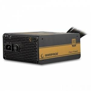 Rampage ETX-750-1 750W 80 Plus Gold Aktif PFC 12cm Fan Oyuncu Power Supply