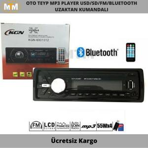 KGN Oto Teyp Mp3 Player Bluetooth