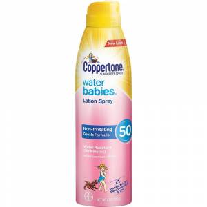 Coppertone Water Babies Lotion Spray 170 mL