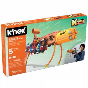 KNex K-Force Sabertooth Rotoshot Blaster Building Set 47024